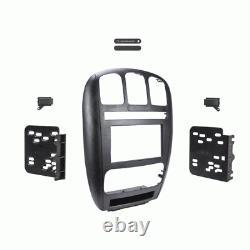 Metra 95-6539 Aftermarket Car Stereo Double Din Radio Installer Dash Kit Pour Dodge