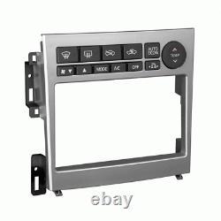 Metra 95-7605 Silver Double Din Radio Installer Dash Kit Pour G35, Auto Stereo Mount