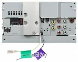 Nouveau Jvc Kw-v25bt 6.2 Lecteur DVD Double Platine Bluetooth Lecteur DVD Stéréo De Voiture