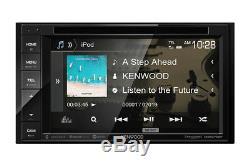 Nouveau Kenwood Ddx26bt 6.2 Double Din Voiture Écran Tactile Stéréo Bluetooth Stéréo DVD