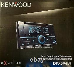 Nouveau Kenwood Dpx594bt Double Din Bluetooth In-dash CD Car Stereo Receiver