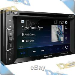 Nouveau Pioneer 6.2 Double-din In-dash DVD / CD Car Stereo Withbluetooth / Siriusxm-ready