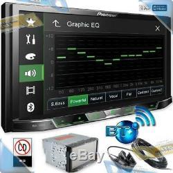 Nouveau Pioneer 7 Double-din Au Tableau De Bord Digital Media A / V Car Stereo Radio Withbluetooth