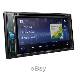 Nouveau Pioneer Avh-210ex 6.2 DVD Double Din Touchscreen Stereo Bluetooth Stere