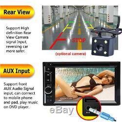 Objectif Sony 6.2 Écran Tactile 2din Lecteur DVD De Voiture CD Radio Caméra Stéréo + Prius