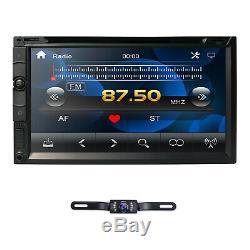 Objectif Sony Double 2 Din 7 Dash En Stéréo Voiture Lecteur DVD Bt Radio Ipod Sd / Usb + Cam