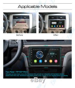Objectif Sony Double 2din Car Stereo Mp3 Android Gps Lecteur Hd Indash Bluetoothradio