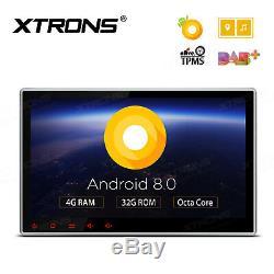 Octa-core Android 8.0 4 Go De Ram 10.1 Double Radio 2din Radio De Navigation Gps De Voiture