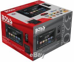 Patron Bv9371bd Double Din DVD De Voiture Bluetooth Stéréo Avec Écran Tactile Amovible 6.2