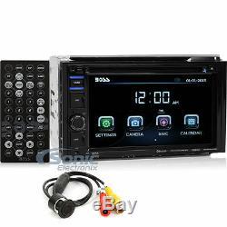 Patron Bvb9364rc Double Din Écran Tactile DVD De Voiture Bluetooth Stéréo + Caméra De Recul