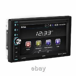 Patron Double-din 320w Bluetooth 6.5 Écran Tactile Voiture Lecteur Multimédia Avec Télécommande
