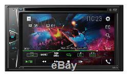 Pioneer Avh-110bt Voiture Double Din 6.2 Écran Tactile Usb DVD CD Bluetooth Stéréo