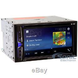 Pioneer Avh-200ex Double 2 Din Touch Bluetooth Lecteur DVD / CD Bluetooth Stéréo Pour Voiture