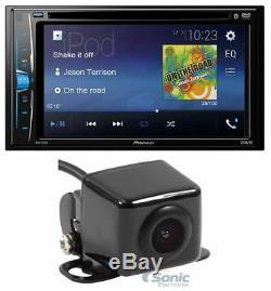 Pioneer Avh-210ex 6.2 Double Din Bluetooth Au Tableau De Bord Caméra Récepteur Audio +