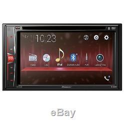 Pioneer Avh-210ex 6.2 Stéréo De Voiture À Double Écran Tactile DVD Din Bluetooth Stéréo