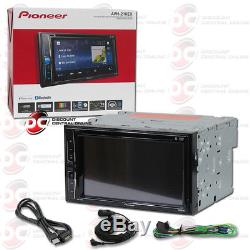 Pioneer Avh-210ex Voiture Double Din 6.2 Écran Tactile Usb DVD CD Bluetooth Stéréo