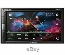 Pioneer Avh-310ex 6.8 Écran Tactile Usb DVD CD Bluetooth Voiture Double Din Stereo Nouveau
