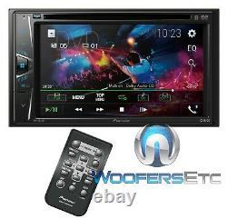 Pioneer Avh G225bt 6.2 DVD CD Usb Aux Bluetooth 200w Amplificateur Car Stereo Nouveau