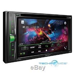 Pioneer Avh-a205bt 6.2 Écran Tactile Usb DVD CD Bluetooth Voiture Double Din Stéréo