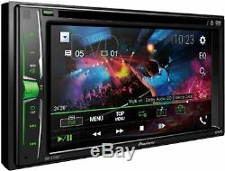 Pioneer Avh-a205bt DVD CD Bluetooth Usb Aux Eq Écran Tactile Stéréo De Voiture À Distance Nouveau
