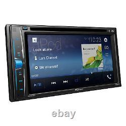 Pioneer Avha215bt Double Din Usb Aux Bluetooth Lecteur De CD DVD Voiture Récepteur Audio