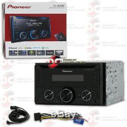 Pioneer Double Din 2din Bluetooth CD Mp3 Stéréo De Voiture Fonctionne Avec Pandora Et Spotify