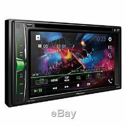 Pioneer Double Din Avh-200ex Lecteur CD / Mp3 / DVD 6.2 Écran Tactile Bluetooth