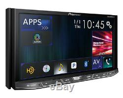 Pioneer Double Din DVD Lecteur CD Autoradio Bluetooth Usb Pandora Android Mixtrax