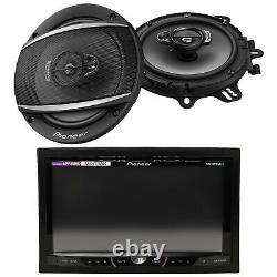Pioneer Double Din DVD Usb CD Radio 7, 2 Pioneer 6.5 Haut-parleurs De Voiture
