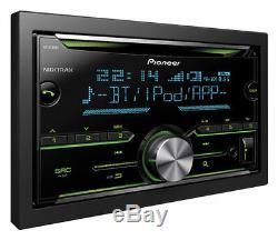 Pioneer Fh-x730bt Double Din Car CD Stéréo Mp3 Usb Bluetooth Ipod Iphone Android