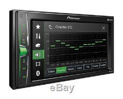 Pioneer Mvh-200ex - Kit D'installation De Radio Stéréo Pour Voiture À Double Traineau Avec Bluetooth