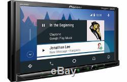 Pioneer Mvh-2300nex Double Din Android / Stéréo De Voiture Carplay Au Tableau De Bord