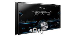 Pioneer Super Tuner III Car Stereo Radio Bluetooth Double Din Pandora Spotify