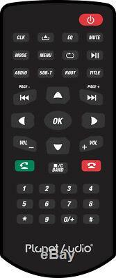 Planet Audio Pnv9674 2 Din Din / Mp3 / CD Bluetooth Navigation Double Stéréo De Voiture