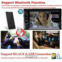 Pour 2004-2010 Chevy Cobalt Malibu 2 Voiture Din CD DVD Bluetooth Stéréo Caméra Radio +