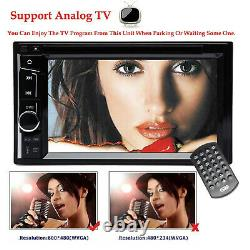 Pour 2007-2012 Nissan Altima Double 2 Din 6.2 Voiture Stereo Hd Touch Screen DVD CD