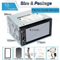 Pour Chevrolet Gmc Touch Screen Car Radio Stereo Head Unit + Caméra De Secours Arrière