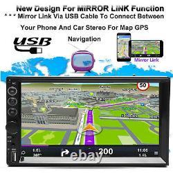 Pour Chevrolet Silverado 7 2din Hd Car Stereo Usb Mirror Link Fm/am Mp5 Aveccamera