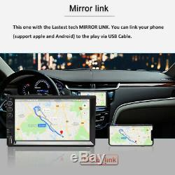 Pour Ford Expedition Mustang Explorateur Car Stereo 2din Mirror Lien Usb Radio Fm / Am