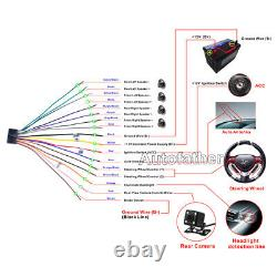 Pour Gmc Sierra 1500 2500 3500 Hd Voiture CD DVD Radio Bluetooth Stereo 2 Din