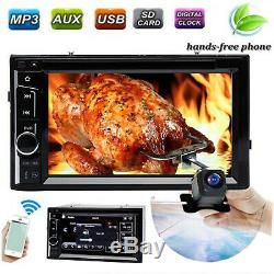 Pour Honda Accord Pilot 6.2 2 Din Autoradio CD Lecteur DVD Radio Caméra De Recul