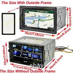 Pour Hummer H1 H2 H3t 2din Voiture Stéréo CD Radio Headunit Player + Caméra De Sauvegarde