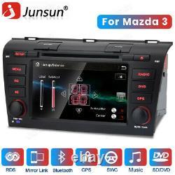Pour Mazda 3 2004 2005 2006 2007 2008 Double Din Car Stereo Gps Navi Dab+ Radio