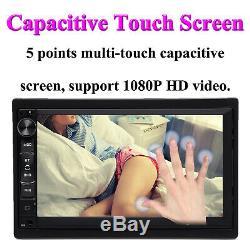 Pour Mercedes-benz Écran Tactile De Voiture Bluetooth Radio Stéréo Android 2din Gps + Cam
