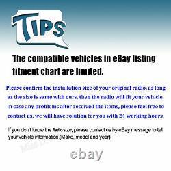 Pour Nissan Leaf Rogue Versa Voiture Stéréo Lecteur DVD Radio Mirrorlink Aux In-dash