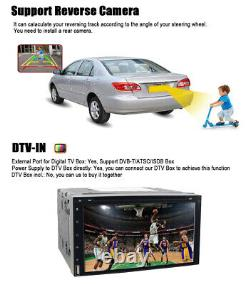 Pour Samsung Double 2din 7car Stereo Radio DVD Player In Dash Bluetooth Dtv Usb