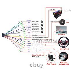 Pour Scion Tc Xb XD Écran Tactile 2din Stéréo Lecteur DVD Bluetooth Miroir Radio