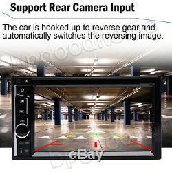 Pour Sony Bluetooth Objectif Autoradio DVD Lecteur CD 6.2radio Mirrorlink Gps + Caméra