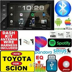 Pour Toyota & Scion Kenwood DVD CD Bluetooth Usb Car Radio Stereo Double Din