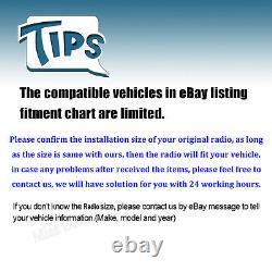 Pour Toyota Tacoma Tundra 1995-2018 2 Din Car Stéréo Lecteur DVD Radio Mirror-gps